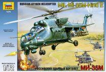 Zvezda Mil Mi-35 Soviet Helicopter makett