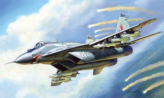 Zvezda MiG-29C (9-13)