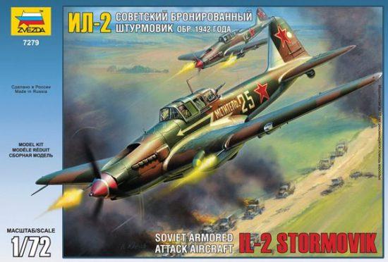 Zvezda IL-2 Stormovik makett