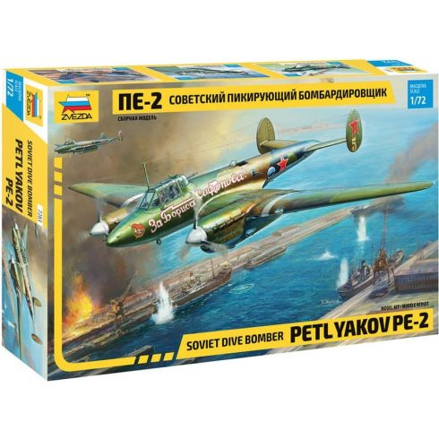 Zvezda Petlyakov Pe-2 makett