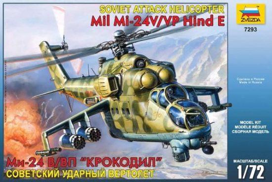 Zvezda Mil Mi-24V Hind C makett