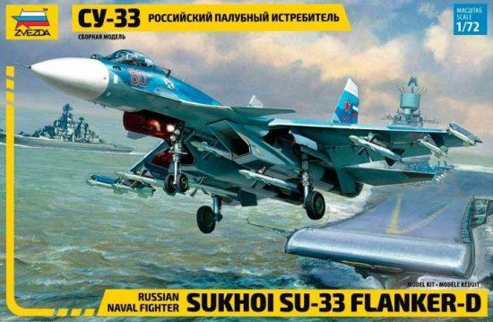 Zvezda Sukhoi Su-33 makett