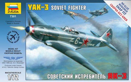 Zvezda Airplanes Yak-3 Soviet Fighter