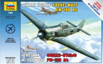 Zvezda Focke Wulf 190 A4 makett