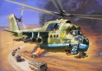 Zvezda Mil Mi-24P makett