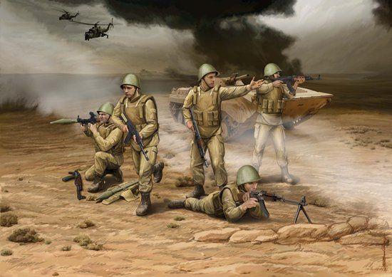 Zvezda Soviet Modern Infantry