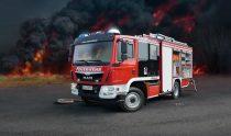 Revell MAN TGM Schlingmann HLF 20 VARUS 4x4 makett