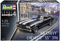 Revell 1968 Chevrolet Chevelle SS 396 makett