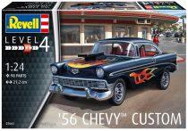 Revell 1956 Chevrolet Custom makett