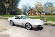 Revell Corvette C3 makett