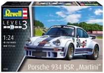 Revell Porsche 934 RSR Martini makett