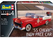 Revell 1955 Chevrolet Indy Pace Car convertible makett