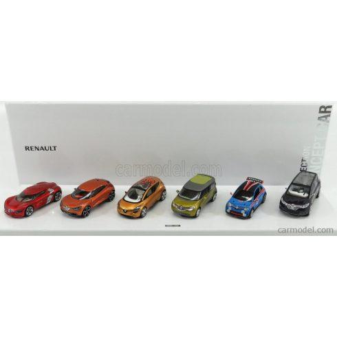 Norev Renault COFFRET 6 CONCEPT CARS RENAULT