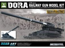 Dora Railway Gun 1:35 Limited Edition makett