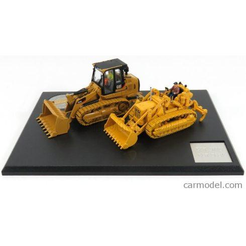 DM MODELS CATERPILLAR SET 2X CAT963K + CAT977D RUSPA CINGOLATA - TRACTOR TRAXCAVATOR TRACK LOADER