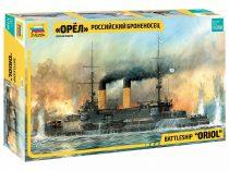 Zvezda Russian Battleship Oriol makett