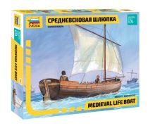 Zvezda Medieval Life Boat makett