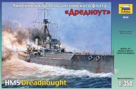 Zvezda British battleship HMS Dreadnought