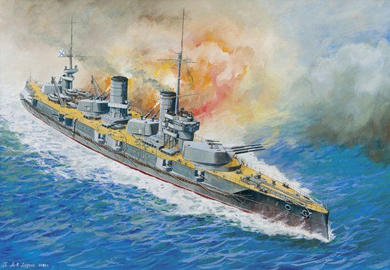 Zvezda Russian Battleship Sevastopol makett