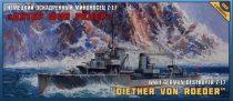 Zvezda Diether Von Roeder Destroyer Z-17 makett