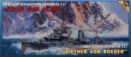 Zvezda Diether Von Roeder Destroyer Z-17