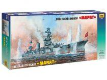 Zvezda Soviet Battleship Marat makett