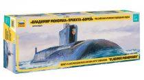 Zvezda Borey-Calss Russian Nuclear Submarine Vladimir Monomakh makett