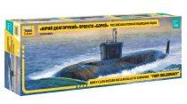 Zvezda Russian Borey-class Nuclear Submarine Yury Dolgorukiy makett