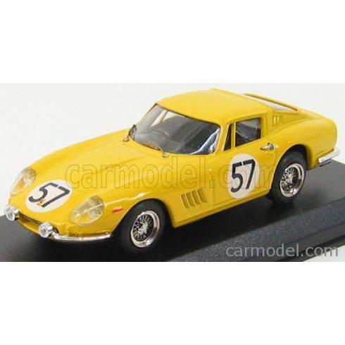 BEST MODEL FERRARI 275 GTB/4 ECURIE FRANCORCHAMPS N 57 24h LE MANS 1966 NOBLET - DUBOIS