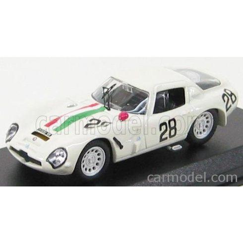 BEST MODEL ALFA ROMEO TZ2 N 28 MONZA 1967 DE LEONIB - DI BONA