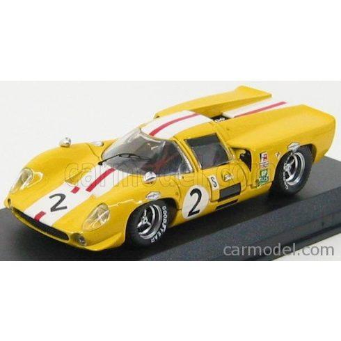 BEST MODEL LOLA T70 COUPE N 2 BRANDS HATCH 1968 BONNIER - AXELSSON