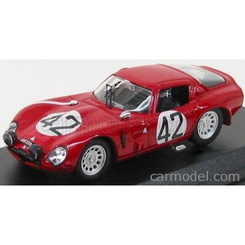 BEST MODEL ALFA ROMEO TZ2 N 42 24h LE MANS 1965 ZUCCOLI - GEKY