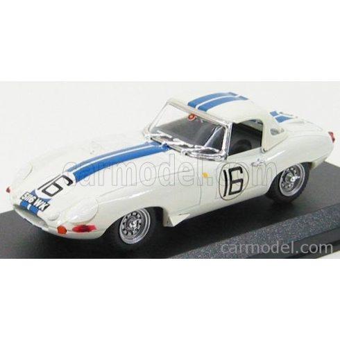 BEST MODEL JAGUAR E-TYPE SPIDER N 16 24h LE MANS 1963 SALVADORI - RICHARDS