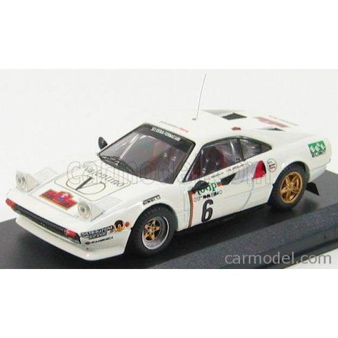 BEST MODEL FERRARI 308 GTB N 6 RALLY ELBA 1985 ROGGIA - ERCOLANI