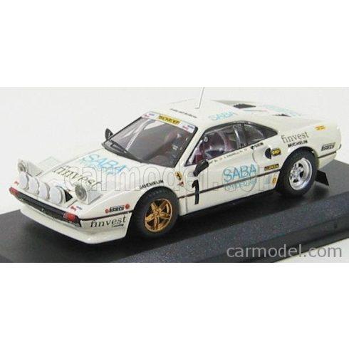 BEST MODEL FERRARI 308 GTB RALLY N 1 TARGA FLORIO 1983 TONY - RADAELL