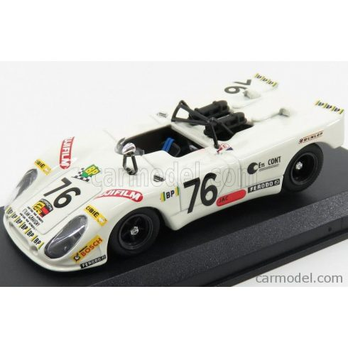BEST MODEL PORSCHE 908/2 FLUNDER N 76 24h LE MANS 1972 LAGNIEZ - TOUROUL