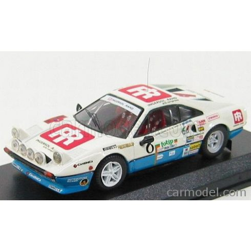 BEST MODEL FERRARI 308 GTB N 8 RALLY ELBA 1984 AMATI - ORMEZZANO