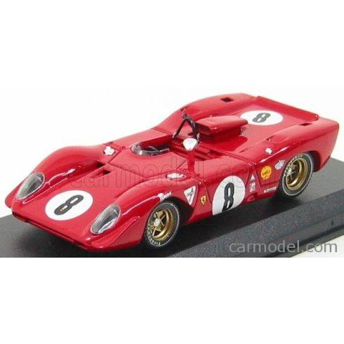BEST MODEL FERRARI 312 P SPIDER N 8 1000Km SPA 1969 RODRIGUEZ - PIPER