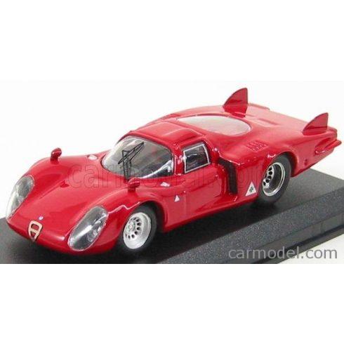 BEST MODEL ALFA ROMEO 33.2 CODA LUNGA PROVA 1968