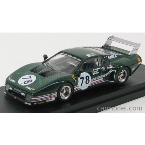 BEST MODEL FERRARI 512BB LM N 78 24h LE MANS 1980 O'ROUTKE - DOWN - PHIL