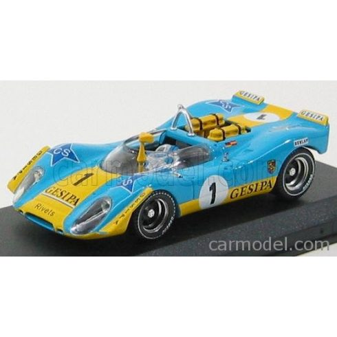 BEST MODEL PORSCHE 908/2 N 1 JARAMA 1970 ALEX-SOLER ROIG