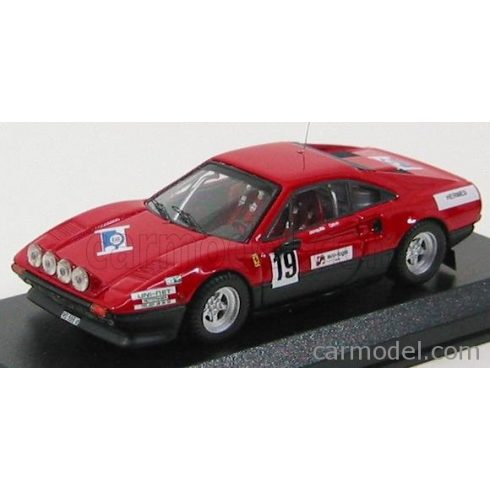 BEST MODEL FERRARI 308 GTB N 19 RALLY ST CERGUE 1982 JAQUILLARD