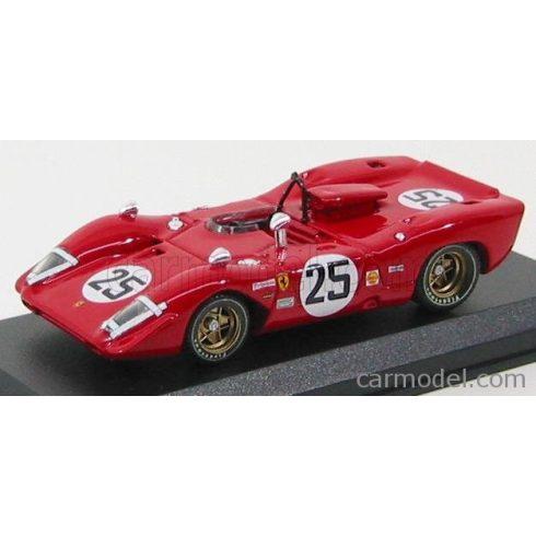 BEST MODEL FERRARI 312 P N 25 SPY SEBRING 1969