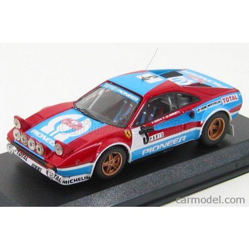 BEST MODEL FERRARI 308 GTB N 3 RALLY MONTECARLO 1982 ANDRUET - BICHE