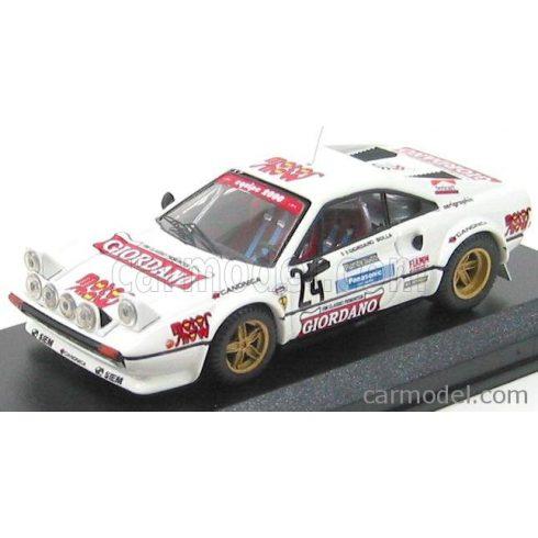 BEST MODEL FERRARI 308 GTB GR.4 N 24 RALLY DELLA LUNA 1980 GIORDANO - BOLLA