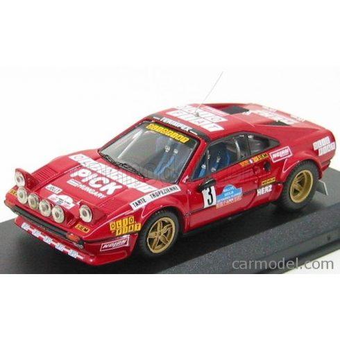 BEST MODEL FERRARI 308 GTB GR.4 N 3 TARGA FLORIO 1980 ANDRUET - BICHE