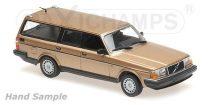 Minichamps VOLVO 240 GL BREAK - 1986 - GOLD - MAXICHAMPS