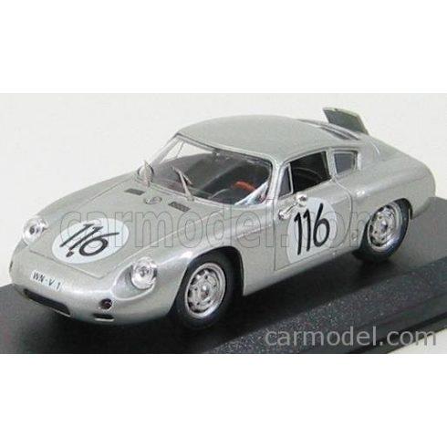BEST MODEL PORSCHE 1600GS ABARTH N 116 TARGA FLORIO 1960 LINGE - STRAHLE - LISSMANN