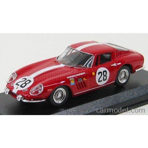 BEST MODEL FERRARI 275 GTB TEAM SCUDERIA FILIPINETTI N 28 24h LE MANS 1967 STEINEMANN - SPOERRY