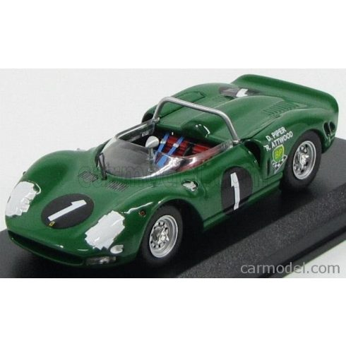 BEST MODEL FERRARI P2 SPIDER N 1 WINNER 9h KYALAMI 1965 PIPER - ATTWOOD